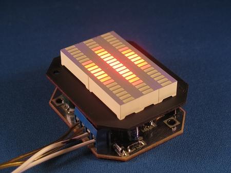 Knight Rider Mini Voicebox Display Kitt Led Vu Meter