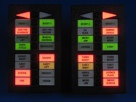Knight Rider Switchpod Displays Season 3 4 Engraved Text