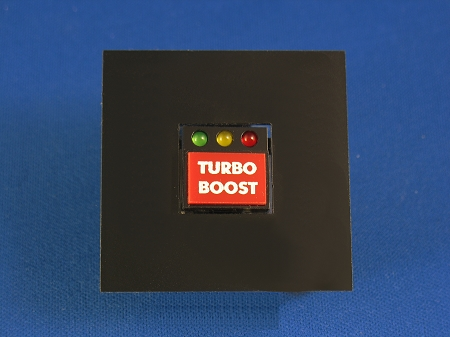 Knight Rider Kitt Turbo Boost Button Individual
