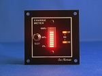 12V CHARGE METER - BAR GRAPH VOLTMETER red, simplified