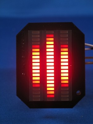 Knight Rider MINI Voicebox Display - KITT LED VU-meter
