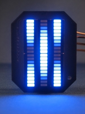 Blue Star Blade Reviews >> Knight Rider MINI Vbox Display - BLUE KARR LED VU-meter