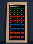 Knight Rider CODING Keypad reproduction - lower console