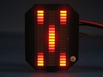 Knight Rider MINI Vbox Display - RED KARR LED VU-meter
