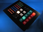 Knight Rider S1 Lower Console Panel - pressable CODING