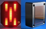 Knight Rider MINI Vbox Display - RED KARR 60-LED - wENC