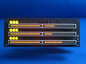 Knight Rider scrolling display, 3 rows