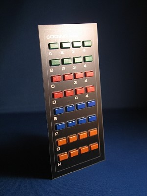 Knight Rider CODING Keypad - lower console - pressable