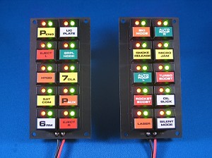 Knight Rider Switchpod Displays - SEASON 1-2 - w/labels