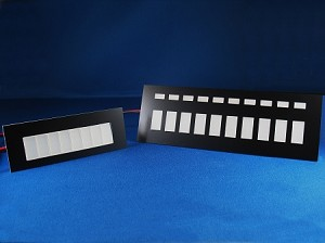 Knight Rider S34 Upper Console Displays - w/overlay