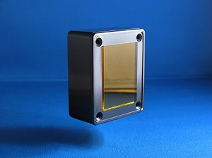 KR MINI Voicebox enclosure - YELLOW lens - enclosure only